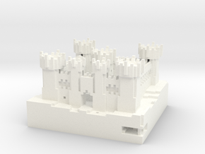 Castle Riath in White Processed Versatile Plastic