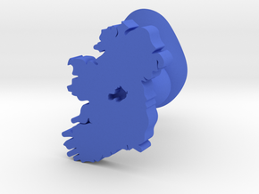 Westmeath Cufflink in Blue Processed Versatile Plastic
