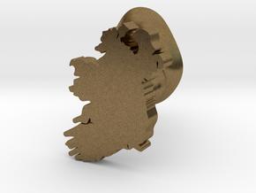 Derry Cufflink in Natural Bronze