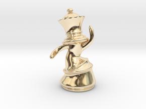 Dansing Queen in 14k Gold Plated Brass