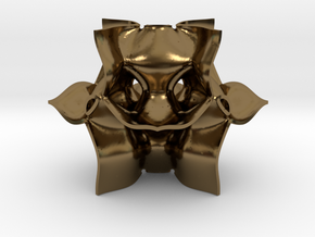 Parametric Mathematical Geometry in Polished Bronze