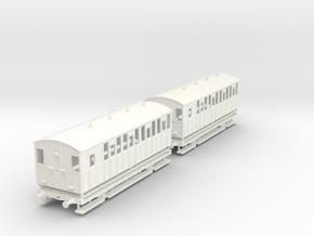 MDR 4 Wheelers Brake 3rds in White Processed Versatile Plastic