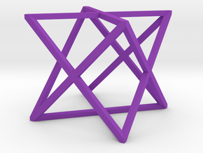 xCube Large in Purple Processed Versatile Plastic