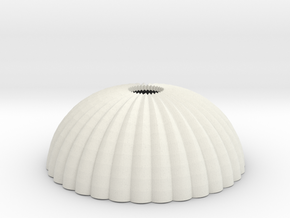 1/160 N scale army parachute para Fallschirm in White Natural Versatile Plastic