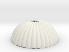 1/144 12mm scale army parachute para Fallschirm in White Natural Versatile Plastic
