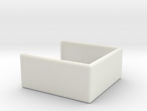 Bracket for Pixpro 4k dual Holder  in White Natural Versatile Plastic