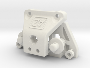 TC02C ALLOY CHASSIS WATERFALL 17th March 2016 in White Strong & Flexible