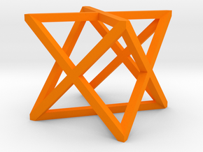 xCube Small in Orange Processed Versatile Plastic