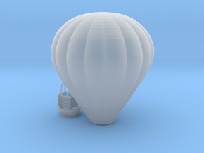 Hot Air Baloon - 1:100scale in Smooth Fine Detail Plastic