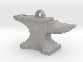 Anvil Pendant - Original Design in Aluminum