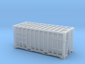 20 Waste Container Manchester 80s (N Gauge 1:148) in Frosted Ultra Detail
