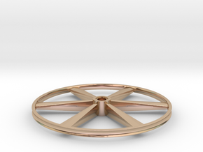 "CHAPP, 1:8 Scale, 26"" Bicycle Wheel, 120904 in 14k Rose Gold"