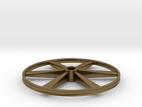 "CHAPP, 1:8 Scale, 24"" Bicycle Wheel, 120904 in Natural Bronze"