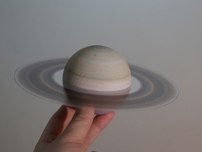 Saturn (Bifurcated) in Full Color Sandstone