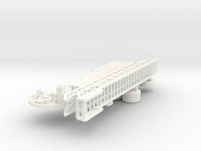 1/64 ALF TDA parts in White Processed Versatile Plastic