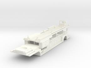 1/64 ALF TDA Tiller in White Processed Versatile Plastic