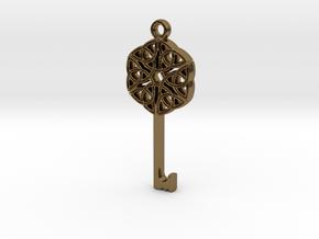 Friggjarlykill #2  - Key of Frigg in Polished Bronze