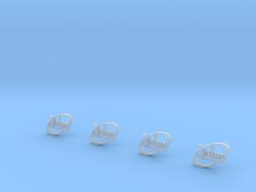 4xValueliner-logo in Smooth Fine Detail Plastic