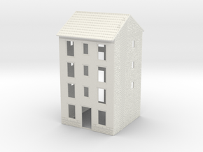 NVIM01 - City buildings in White Natural Versatile Plastic