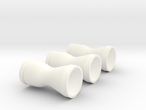 Aux Prop Eng Bell 3-Pack in White Processed Versatile Plastic