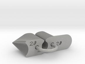 Radius Gauge Metric in Aluminum