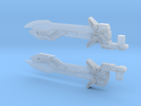 Voyager Evasion Mode Optimus Prime Sword in Smooth Fine Detail Plastic