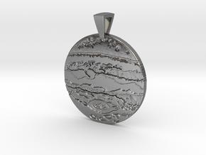 Jupiter Pendant in Polished Silver