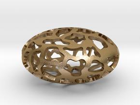 Orbit pendant in Polished Gold Steel