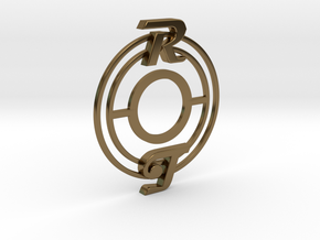 Pickup Selector Plate - Magneto R/T With Circle Tr in Polished Bronze