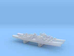USS DL-01 Norfolk x 2, 1/6000 in Smooth Fine Detail Plastic