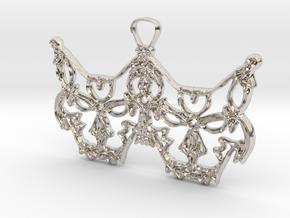 Freyjukettir - Freyja's cats in Rhodium Plated Brass
