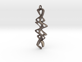 Twisty Pendant in Stainless Steel