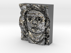 Mutassim Gaddafi : The Warrior in Fine Detail Polished Silver