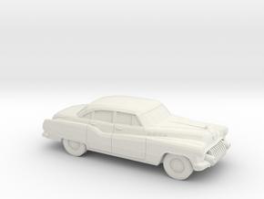 1/87 1950 Buick Rooadmaster Sedan in White Strong & Flexible