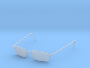 Agent smith 1/6 scale glasses in Smoothest Fine Detail Plastic