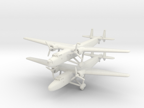 Handley Page H.P.54 Harrow and Sparrow 1/285 6 mm in White Natural Versatile Plastic