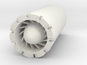 Reactor Blade Plug  in White Strong & Flexible