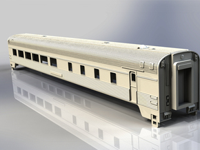 Via Rail Dining Car  in NScale  in White Natural Versatile Plastic