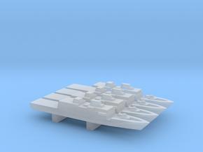 Comandanti-class OPV x 4, 1/1800 in Smooth Fine Detail Plastic