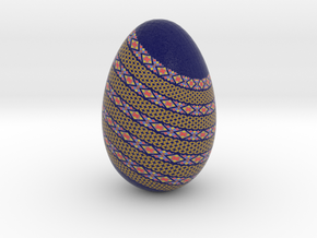 Blue Dragon Egg in Full Color Sandstone