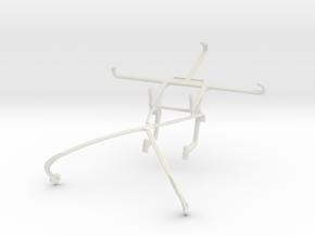 Controller mount for Shield 2015 & ZTE Nubia Z9 Ma in White Natural Versatile Plastic