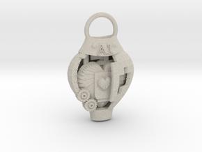 AI pendant in Natural Sandstone