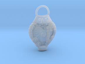 AI pendant in Smooth Fine Detail Plastic