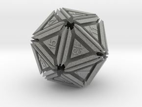 Dice: D20 in Metallic Plastic