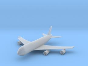 Passenger Plane in Smooth Fine Detail Plastic