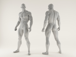 Strong Man scale 1/24 2016018 in Smooth Fine Detail Plastic