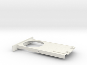 Cupholder Tray V5 in White Natural Versatile Plastic