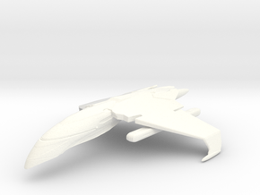 ROMULAN AERIE CLASS in White Strong & Flexible Polished