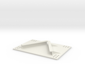 Gerätehalter 1/16 in White Natural Versatile Plastic