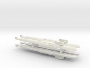Yankee Notch - Class SSBN x 4, 1/1800 in White Natural Versatile Plastic